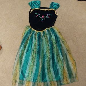 Frozen Disney dress size woman  large